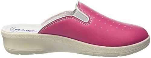 Aperte Sulla fuxia Caviglia Rosa Pantofole 50000034 Inblu Donna HwqzEB