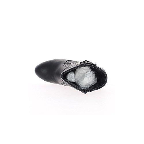 Schwarz Stiefel, 9,5 cm gepolsterte Rod End Ferse
