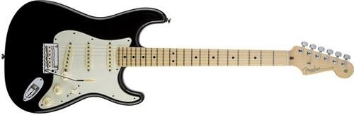 Fender American Standard Stratocaster Electric Guitar, Maple Fingerboard - Black (Fender American Stratocaster compare prices)