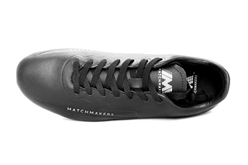 Matchmakers Football Heirship Blackout Ferme Dur Chaussures De Stylo Synthtiques Noir Premium Sol AdfpAgq