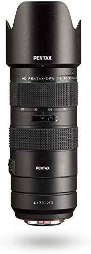 HD PENTAX-D FA 70-210mm F4ED SDM WR: Telephoto Zoom Lens for DSLR Cameras High-Performance While maintaing Con