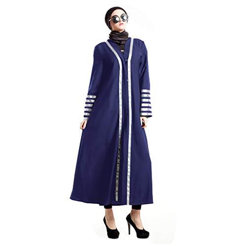 Casual Dress Fairy Preternatural Muslim Dress Feathered Chiffon Dress National Gown Blue