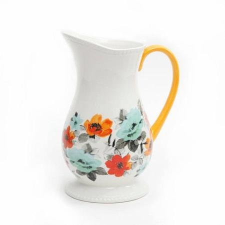 The Pioneer Woman Flea Market Decorated Floral 2-Quart Pitcher (1) ()