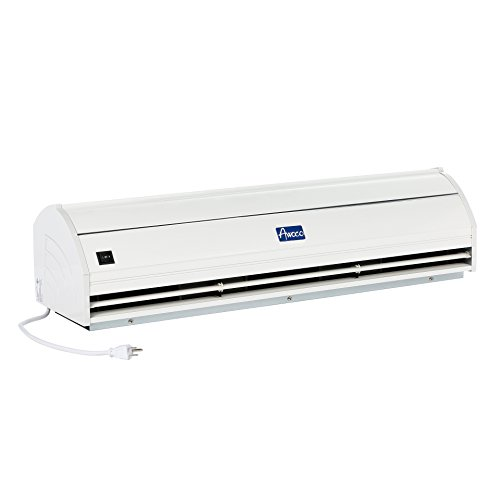 Awoco Elegant 1000CFM 2 Speeds Commercial Indoor Air Curtain with Heavy Duty Door Switch, - Air Alloy