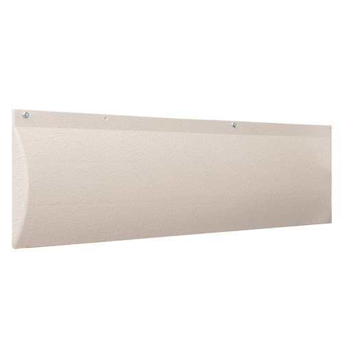 Garage Bumpers Wall - Park Smart 20005 Clear Translucent White Wall Guard
