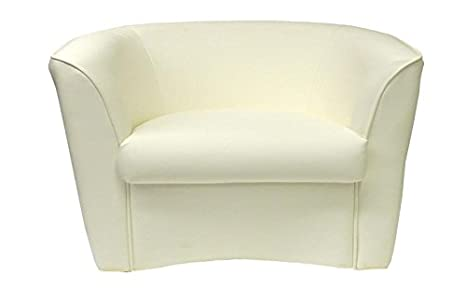 Poltrone e divani Divano divanetto 2 posti bianco per soggiorno sala ...