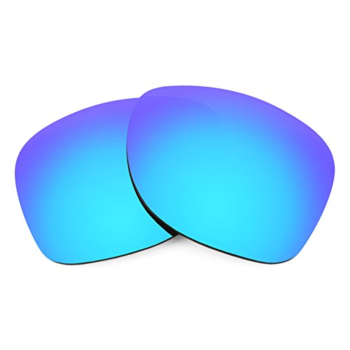 Verres de rechange pour Smith Wayward — Plusieurs options Bleu Glacier MirrorShield® - Polarisés