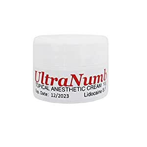 10g UltraNumb Anesthetic Skin Numbing Cream Numb Tattoo Laser Piercing Waxing FAST SHIPPING