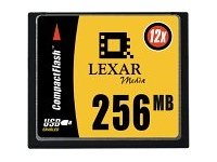 UPC 650590103317, Lexar Media CF256-12-253 Canada Only 256MB 12X Compactflash Cf Card