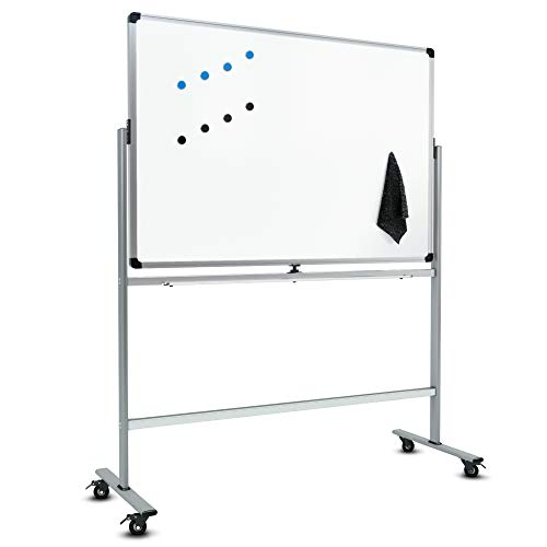 Magnetic Mobile Whiteboard with Stand - 50
