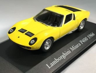 Lamborghini Miura P400 1966 Diecast Model Car Amazon Co Uk Toys