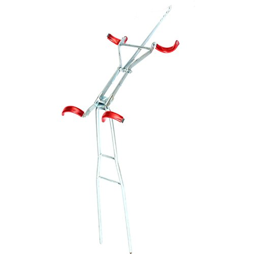 Adjustable Fishing Rod Double Pole Bracket Tool Stand Holder Can Be Adjusted Easily, You Choose Different Angle When