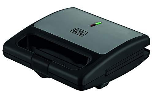 Sanduicheira Aço/inox Sm750 Black+decker Inox/preta 110v