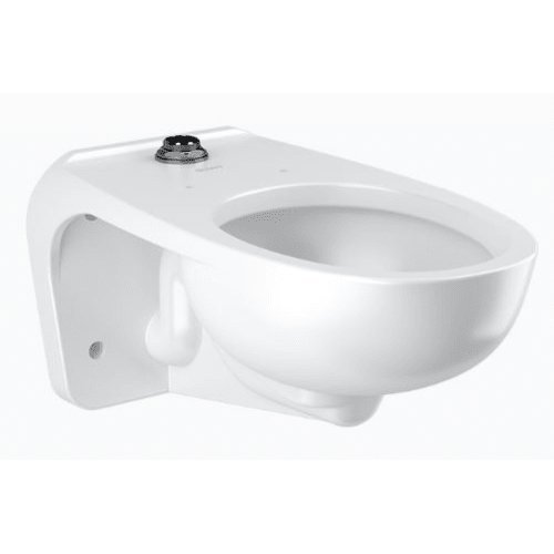 Sloan 2102459 White Wall Mounted Urinal with Top Spud - Less Flushometer