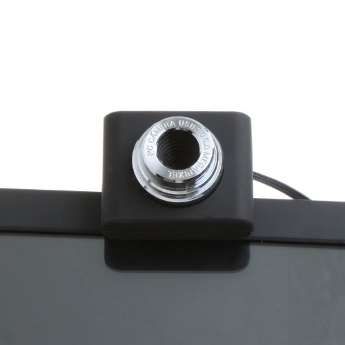 Kingzer Mini PC Camera USB 2.0 50.0 MP Webcam with CD for Laptop Desktop ICQ Skype AIM from KINGZER