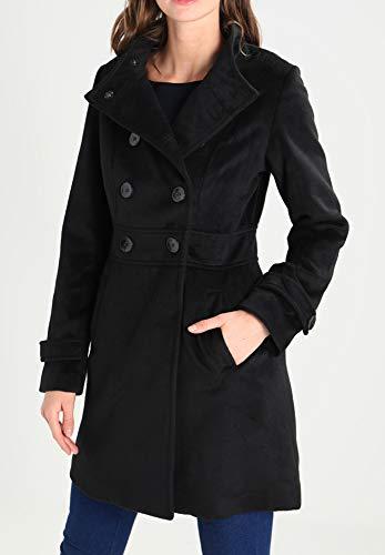 ou rang Manteau en court double d'hiver femme Veste Field avec Anna beige chic chaud pour noir femme avec femme col Peacoat pour pour Manteau montant x8q4wxUS