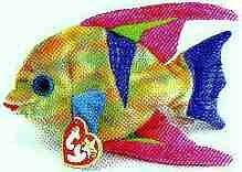 TY Beanie Baby - ARUBA the Angel Fish -