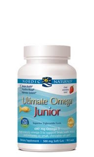 Nordic Naturals - Ultimate Omega Junior, Support for a Healthy Heart, 90 Soft Gels (FFP)