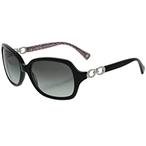Coach Sunglasses - Beatrice / Frame: Black Lens: Grey Gradient