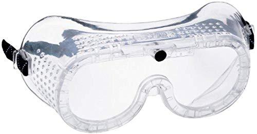 Portwest Direct Vent Goggles EN166 Clear OS & Bandana Bundle