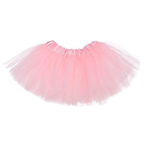My Lello Baby 5-Layer Ballerina Tulle Tutu Light Pink (0-3 mo.) ()
