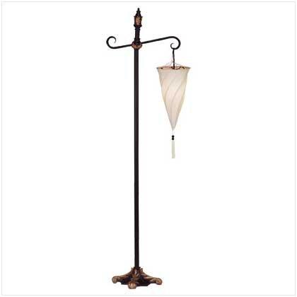 SPIRAL HANGING FLOOR LAMP (Cone Lamp Floor Shade)