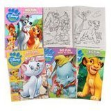 Disney Animal Friends Coloring Book Multipack (Assorted, Designs Vary)