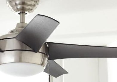 Home Decorators Collection 44 Inch Windward Brushed Nickel Ceiling Fan