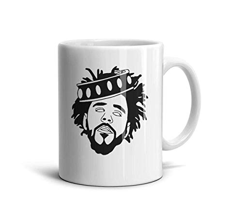 - J-Cole-2014-Forest-Hills-Drive- Classic Coffee Mugs 11oz Ceramic Tea Cups,J Cole Logo-1,One Size