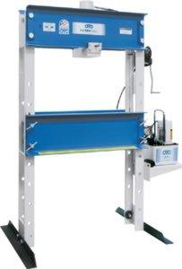 OTC 1845 55 Ton Capacity Heavy-Duty Shop Press with Electric/Hydraulic Pump - Otc Shop Presses