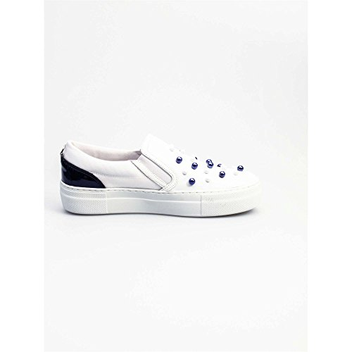 Slip 37 On Cle102453 Bianco Donna Cult 0x6pFqn