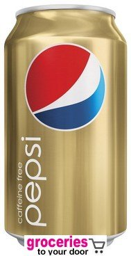 Pepsi Caffeine Free Soda, 12 oz Can (Pack of 24)
