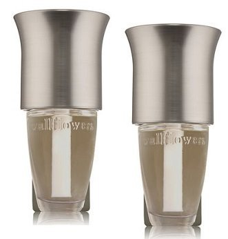 Bath and Body Works 2 Pack Brushed Metallic Flare Wallflowers Fragrance Plug.