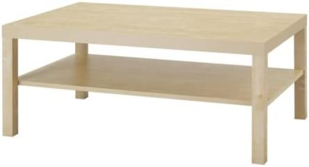Ikea Lack – Mesa de café, Efecto Abedul – 118 x 78 cm ...