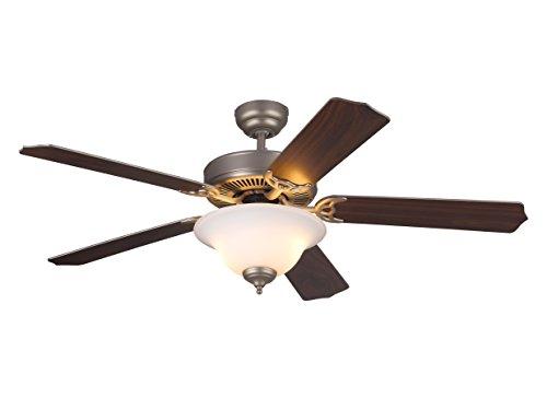 Monte Carlo 5HS52BPD-L, Homeowner Deluxe Ceiling Fan, 52