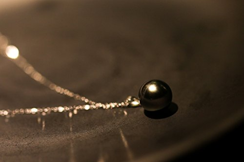 paialco Trend g18K original Tahiti or noir perle pendentif rond 9-10mm