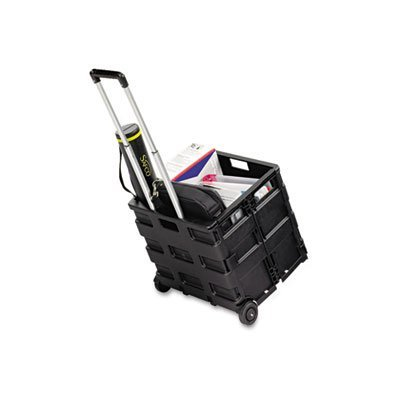 (Stow And Go Cart, 16-1/2 x 14-1/2 x 39, Black, Sold as 1 Each)