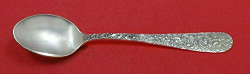 Rose By Stieff Sterling Silver Infant Feeding Spoon 5 3/8