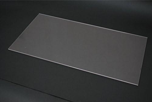 アクリル板 5mm厚 620x300mm 透明 1枚入