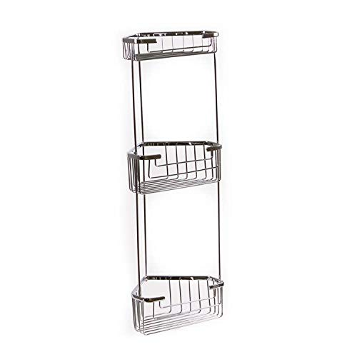 Gedy Gedy 2484 Wire Corner Triple Shower Basket, Chrome by Gedy by Nameeks (Image #1)
