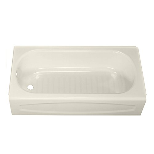 American Standard 0263.212.222 New Solar Soaking Bathtub with Left Hand Outlet, Linen, 5-Feet