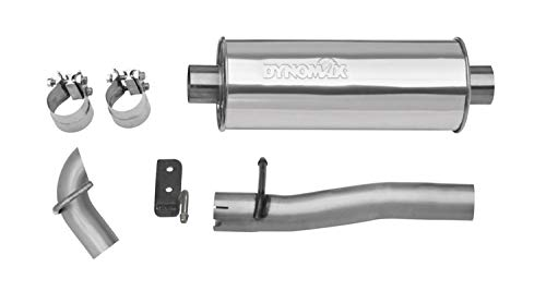 - Dynomax 39516 Ultra Flo Stainless Steel Welded Cat-Back Single Exhaust System