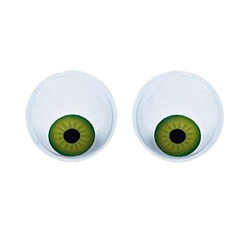 Darice 30007837 Large Self-Adhesive Googly Eyes-Human Look