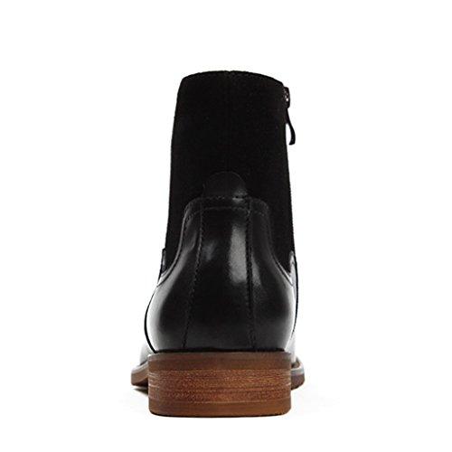 4d67c3209fb7 ... Herren Lederschuhe Herren Lederstiefel Winter Martin Stiefel High-Top- Schuhe spitzen Werkzeug britischen Stil