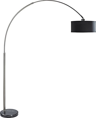 SH Lighting  Adjustable Arching Floor Lamp with Marble Base