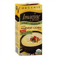 Imagine Organic Soup, Creamy Harvest Corn, Low Sodium, 32 Oz. (Pack of 2)