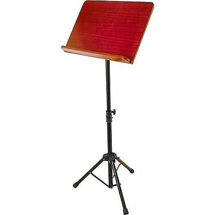 On Stage Stands SM7311 W Pro Música Soporte con escritorio de madera