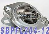 SBPFL204-12 3/4 Pressed Steel Bearing Unit 2-Bolt