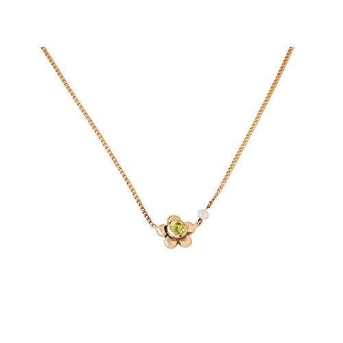 Collier or jaune enfant Daisy