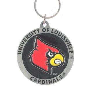 College Team Logo Key Ring - Louisville Cardinals